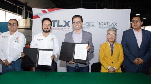 Firman acuerdo de colaboración Icatlax y Canirac en favor de personal de la industria restaurantera