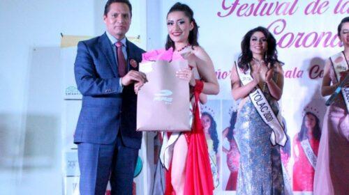 Corona Luis Antonio Herrera a Señorita Tlaxcala